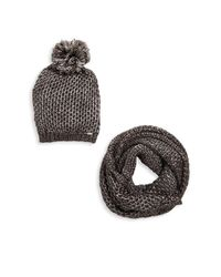 Steve Madden | Black Two-piece Winter Accessory Set | Lyst