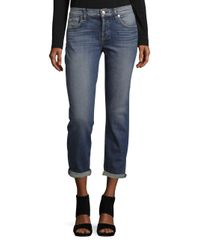 7 For All Mankind   Blue Josefina With Destroy Jeans   Lyst