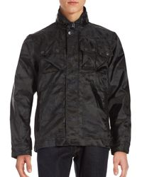 G-Star RAW | Black Chest Pocket Rover Jacket for Men | Lyst