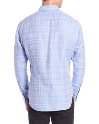 Zachary Prell - Blue Tobias Plaid Sport Shirt for Men - Lyst