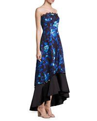 Sachin & Babi - Blue Lydia Strapless Gown - Lyst
