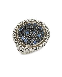 John Hardy | Metallic Naga Sapphire & Sterling Silver Ring | Lyst