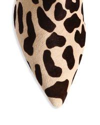 Diane von Furstenberg - Natural Mollo Giraffe-print Fur Booties - Lyst