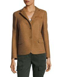 Akris - Multicolor Bellini Tailored Coat - Lyst