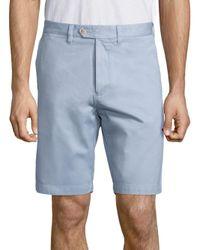 Saks Fifth Avenue - Blue Pima Modal Shorts for Men - Lyst