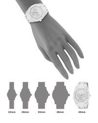Saks Fifth Avenue - Metallic Swarovski Crystal Bezel Stainless Steel Bracelet Watch - Lyst