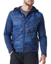 Mpg Blue Camouflage Discover Jacket for men