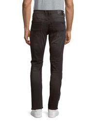 Buffalo David Bitton - Gray Skinny Five-pocket Jeans for Men - Lyst