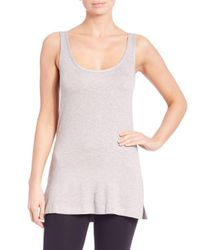 Natori | Gray Lounge Tank Top | Lyst