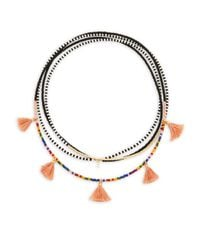 Shashi - Multicolor Delilah Multi-layered Beaded Necklace - Lyst
