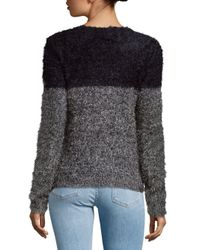 Saks Fifth Avenue | Gray Chic Knit Sweater | Lyst