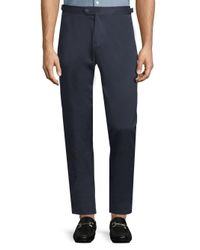 Orlebar Brown - Blue Casual Cotton Pants for Men - Lyst