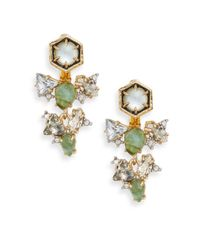 Alexis Bittar - Green Elements Mystic Rivulet Collection Crystal Drop Ear Jackets - Lyst