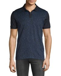 BOSS - Blue Phillipson Printed Polo for Men - Lyst