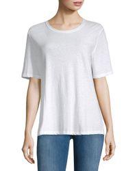 A.L.C. - White Elena T-shirt - Lyst
