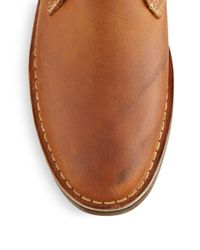 Kenneth Cole - Brown Desert Leather Chukka Boots for Men - Lyst