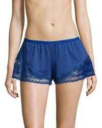 Cosabella - Blue Cosmopolitan Lace-trim Boxer Shorts - Lyst