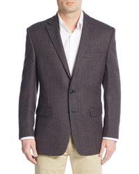 Lauren by Ralph Lauren - Brown Regular-fit Birdseye Wool Sportcoat for Men - Lyst
