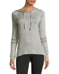 Marc New York - Gray Heathered Hoodie - Lyst