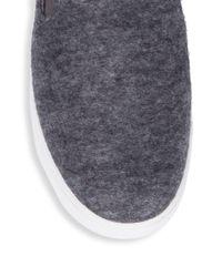 Vince - Multicolor Verrell Wool Shearling Slides for Men - Lyst