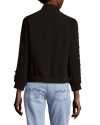 Saks Fifth Avenue - Black Soft Open Jacket - Lyst