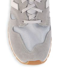 New Balance - Gray Casual Low-top Sneakers for Men - Lyst