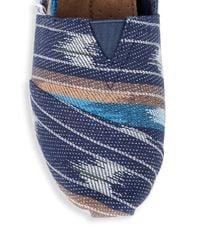 TOMS - Blue Classic Alpargata Espadrille Slip On Shoes for Men - Lyst