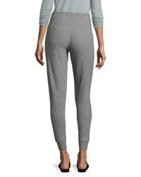 Chaser - Gray Slim Slouchy Heathered Pants - Lyst