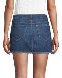 Genetic Denim - Blue Lyndsay Mid-rise Denim Skirt - Lyst