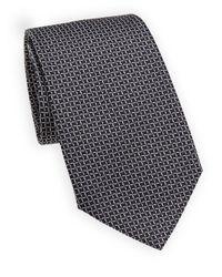 Giorgio Armani - Blue Diamond Silk Tie for Men - Lyst