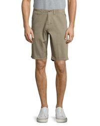 Original Paperbacks | Green Palm Textured Cotton Shorts for Men | Lyst