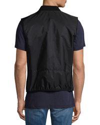 BOSS - Black Nolton Vest for Men - Lyst