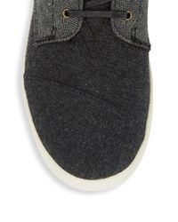 TOMS - Black Paseo Low-top Sneakers for Men - Lyst