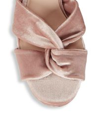 Nine West - Pink Chic Sandals - Lyst