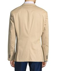 BOSS - Natural Peak Lapel Jacket for Men - Lyst