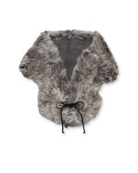 Ugg - Gray Classic Sheepskin Dyed Shearling Shrug - Lyst