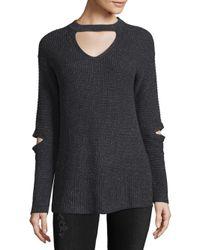 Saks Fifth Avenue - Gray Modish Sweater - Lyst