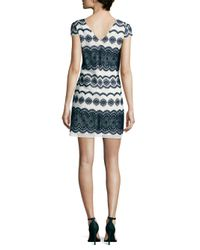 Julia Jordan - Blue Medallion-print Dress - Lyst