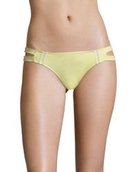6 Shore Road By Pooja - Yellow Santiago Floral Bikini Bottom - Lyst
