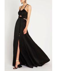 Sass & Bide - Black White Keys Maxi Dress - Lyst