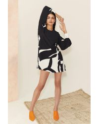 Sass & Bide - Black At The Races Dress - Lyst