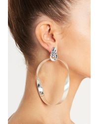 Sass & Bide - Metallic Twisted Facade Earring - Lyst