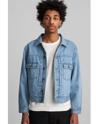 Saturdays NYC - Blue Ray Denim Jacket for Men - Lyst