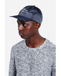 Saturdays NYC   Blue Stanley Miller Satin Hat for Men   Lyst