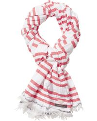 Scotch & Soda - Pink Nautical Scarf for Men - Lyst