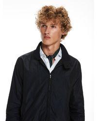 Scotch & Soda - Black Mini Patterned Jacket for Men - Lyst