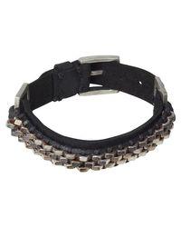 Scotch & Soda | Black Scotch Bracelet for Men | Lyst