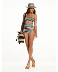 Scotch & Soda | Multicolor High Waisted Knitted Bikini Bottoms | Lyst