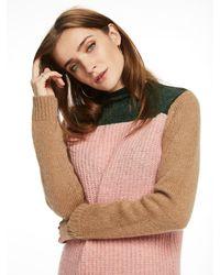 Scotch & Soda Multicolor Knitted Colour Block Sweater