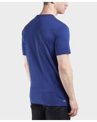 Lacoste - Blue Croc Short Sleeve T-shirt for Men - Lyst
